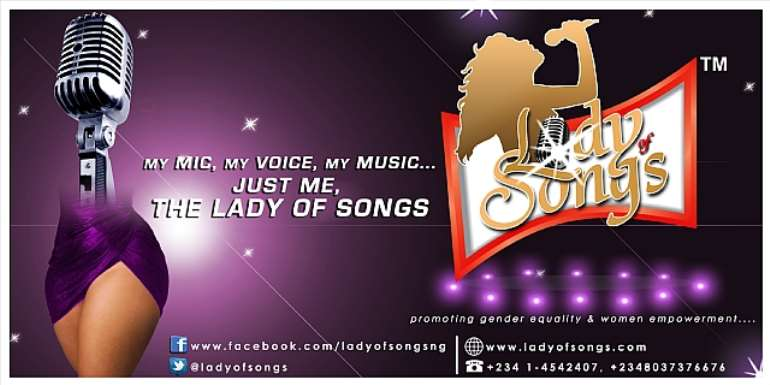 Platinum Entertainment Presents Lady Of Songs. Set To Promote Gender Equality And Women Empowerment Through Music And Entertainment
