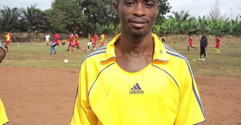 Latif Salifu has returned to full-scale training at Berekum Chelsea.