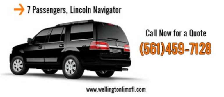 Get The Best Limo Service From Wellington Limos of South Florida