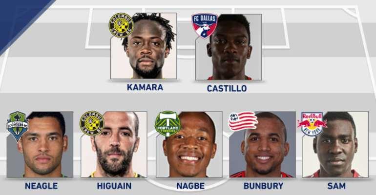 Lloyd Sam named in MLS team of the week