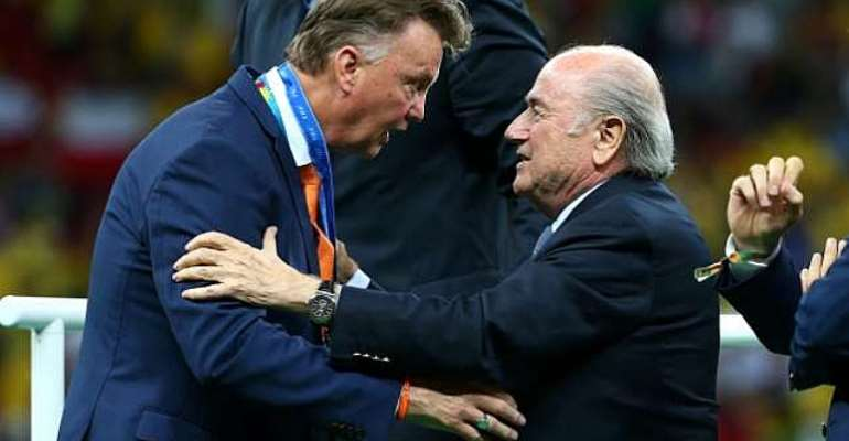 Louis van Gaal proud after the Netherlands defeated Brazil in third-place play-off at FIFA World Cup