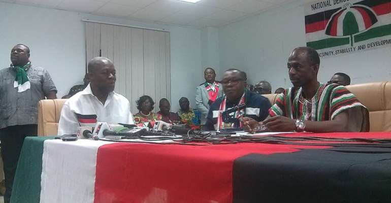 NDC sacks officials for issuing Mahama's challenger with nomination forms