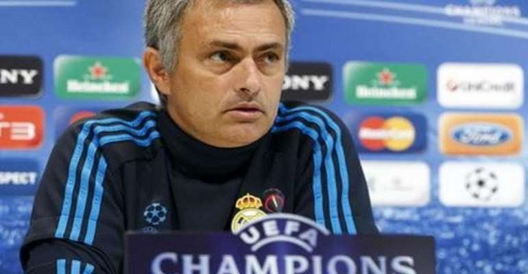 Real Madrid coach Jose Mourinho believes Barcelona are guaranteed a place in this season's Champions League final, alluding to favouritism towards the Catalan club in Europe's premier club competition.