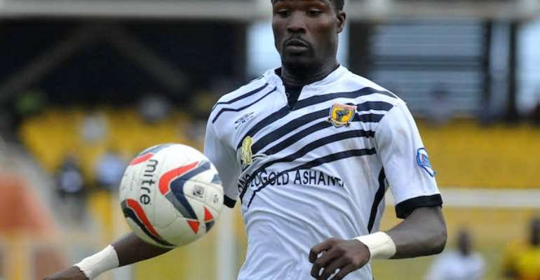 AshGold Midfielder Kadiri Mohammed