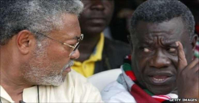 Kwabena Adjei summons Atta Mills over sinking NDC