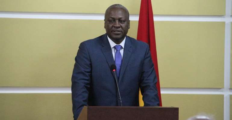President Mahama promises to deepen state-church relations