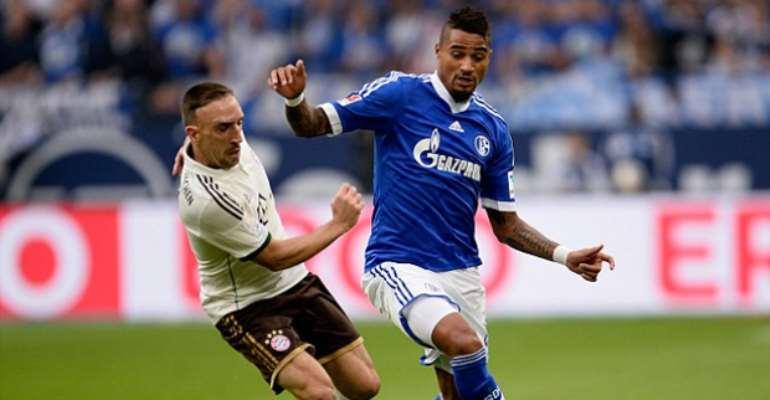 Prince Boateng scores winner for Schalke