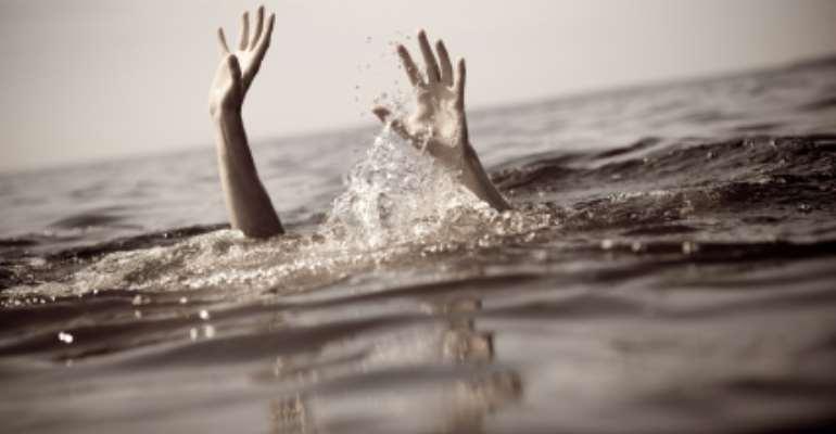 Registration officer drowns, materials missing