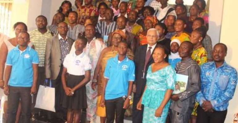 Beneficiaries of project laud Plan International