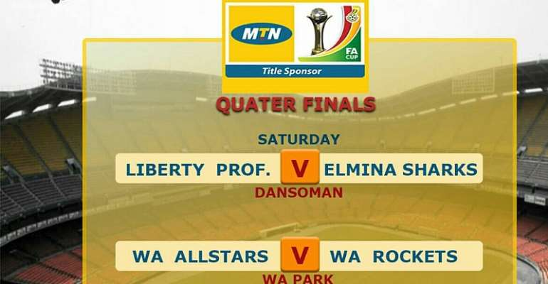 MTN FA CUP LIVE PLAY-BY-PLAY: Liberty Prrofessionals - Elmina Sharks