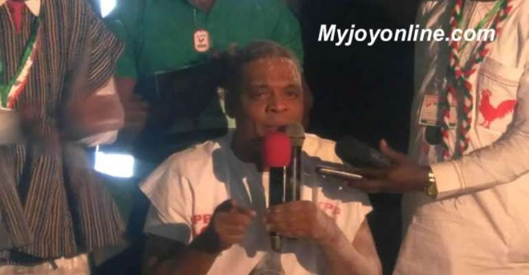 Ivor Greenstreet wins at CPP congress to lead party in November presidential polls
