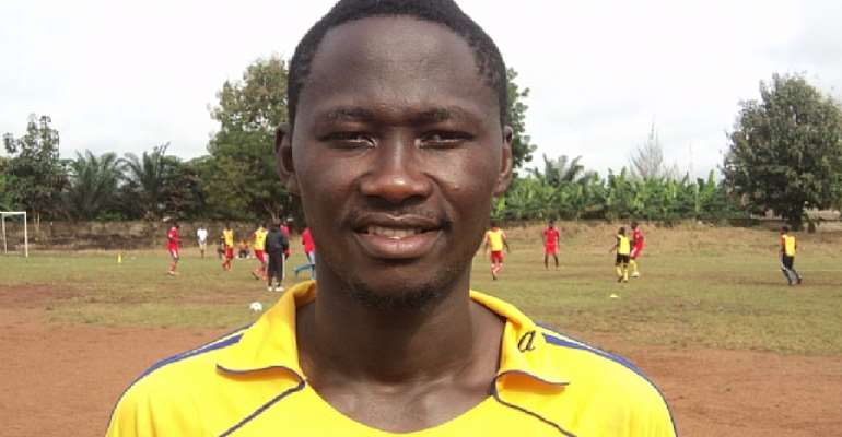 Great Olympics-bound Eric Bekoe eyes Hearts switch