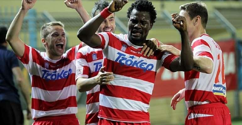 Ghanaian midfielder Aziz Tetteh