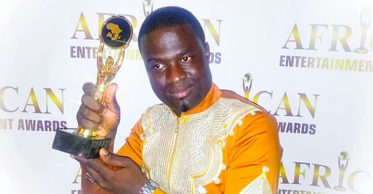 Minister Ike Wins African Best Gospel Artiste At African Entertainment Awards
