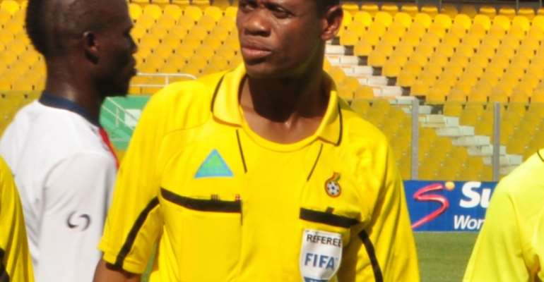 WATCH VIDEO: Referee William Agbovi's penalty decision in Super 2 friendly