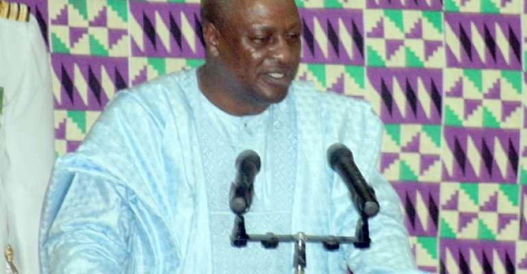 'Better Ghana Agenda' Missing In 2014 State of Nation Address