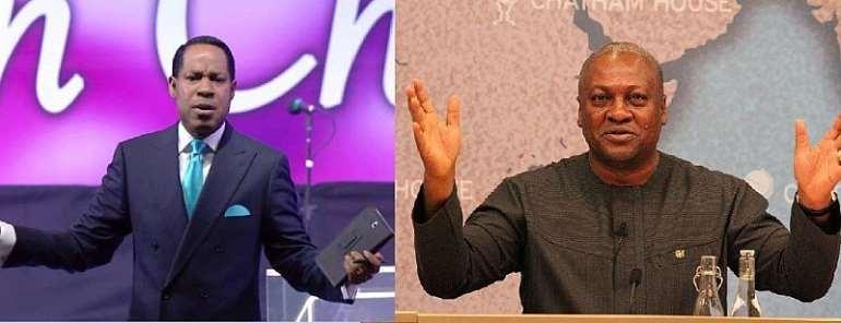 Pastor Chris and President John Mahama
