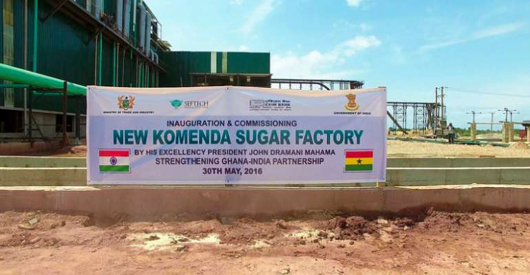 The Introduction Of Park Agrotech Ghana Ltd As Strategic Investor To Take Over The Komenda Sugar Factory Is A Hoax