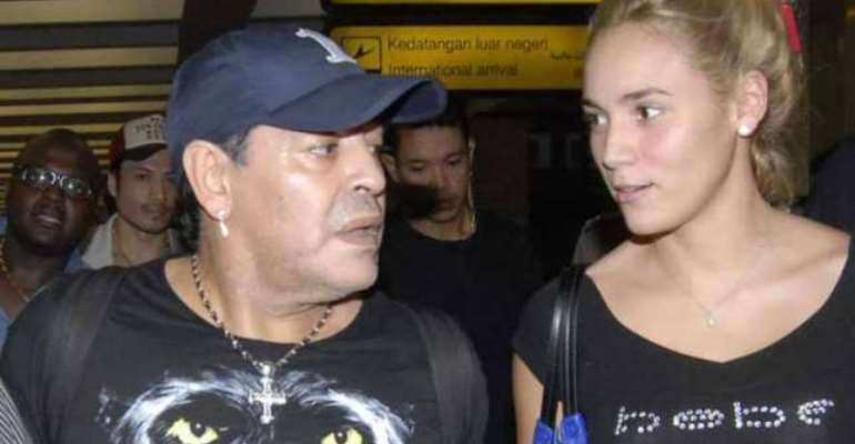 Marriage at 54: Diego Maradona's girlfriend reveals wedding plans