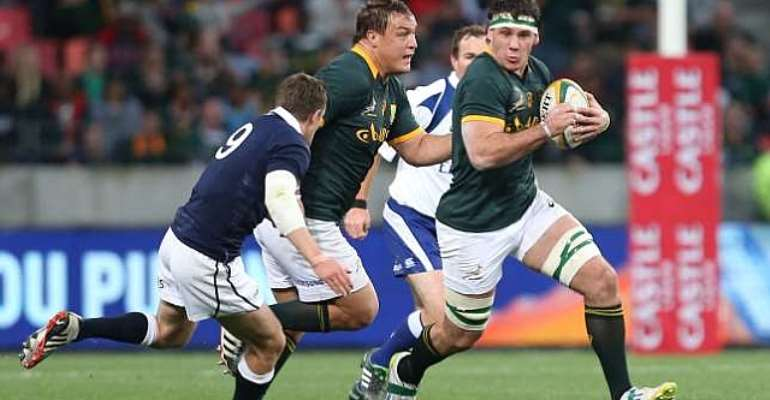 Heyneke Meyer proud after South Africa's emphatic win against Scotland