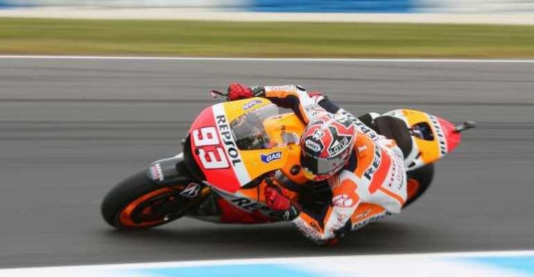 Australian MotoGP: Marc Marquez on Phillip Island pole