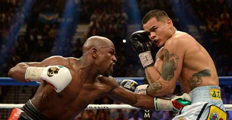 Floyd Mayweather Jr announces Marcos Maidana rematch