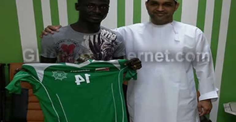 Esme Mends has signed a one-year deal with Oman side Al-Orouba