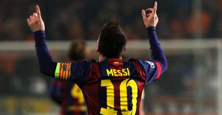 Super Messi: Watch Lionel Messi leave Jerome Boateng dead
