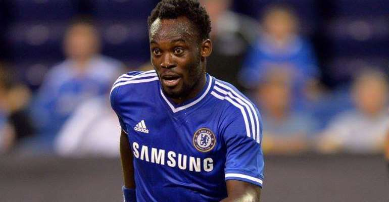 Michael Essien played his debut Premier League game for Chelsea on Saturday evening at West Ham