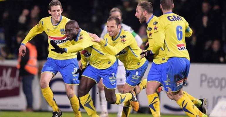 Mitch Apau scored for Westerlo