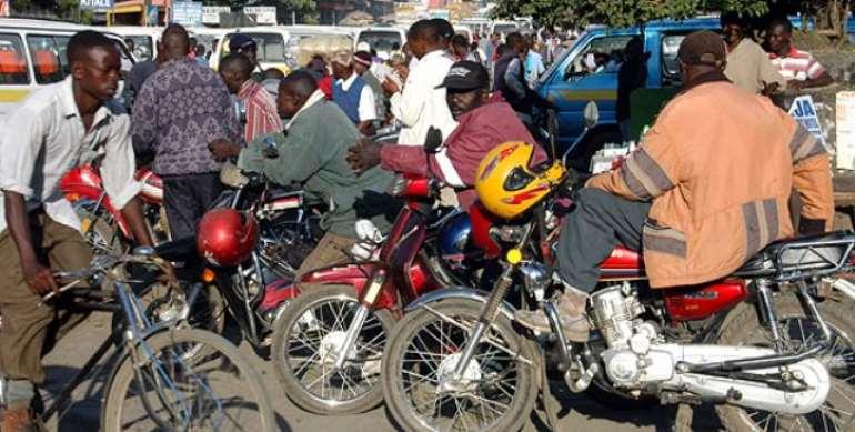 No 'okada' motor-bike taxi service in Ghana