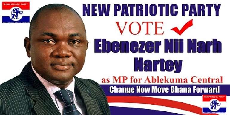 NPP Ablekuma Central Parliamentary Candidate donates to schools