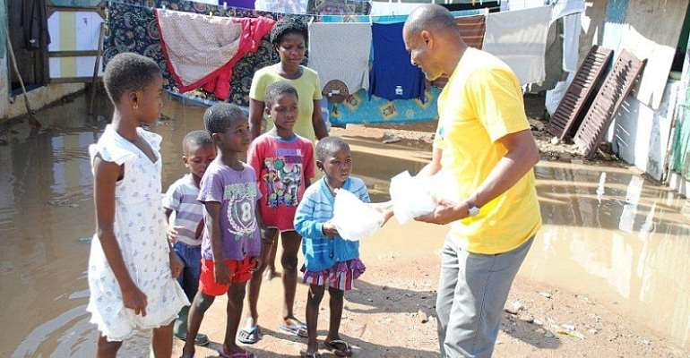 MTN Reaches Out To Flood victims
