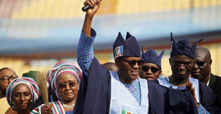Congratulations, Gen Buhari . Your story is that of HOPE .