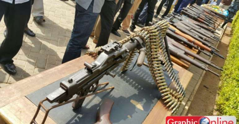 Kumasi Arms Cache Belonged To Ivorians - Police