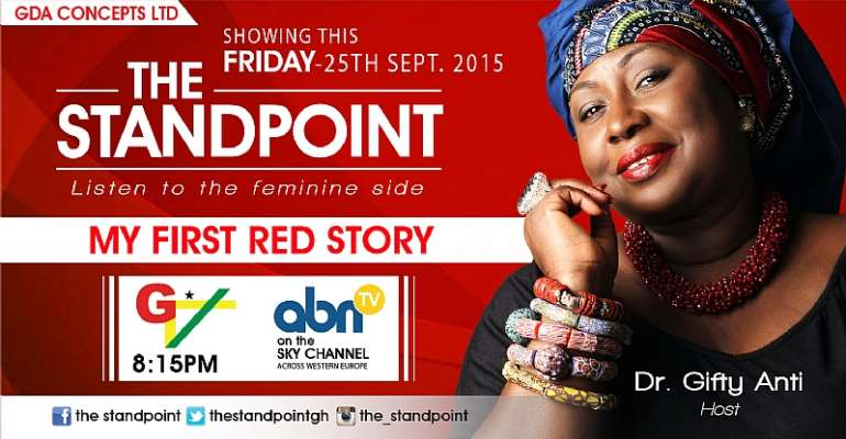 My First Red Story - The Standpoint Breaks A Taboo Tonight