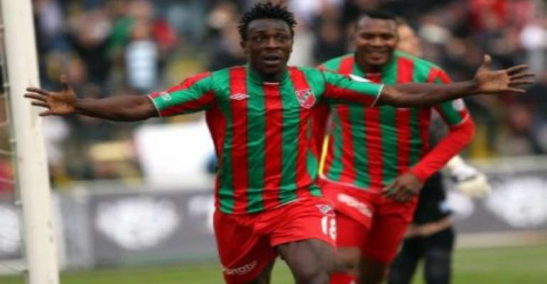 Banahene ruled out of Stars friendly against Turkey
