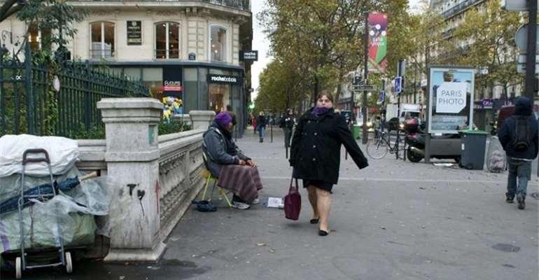 Paris' homeless population has risen by 84 percent in 10 years [Kait Bolongaro/Al Jazeera]