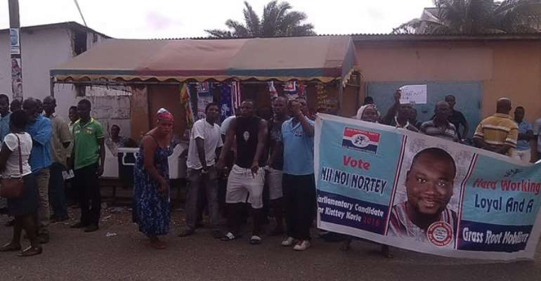 NPP supporters threaten Appeals Committee to pass two disqualified MP aspirants