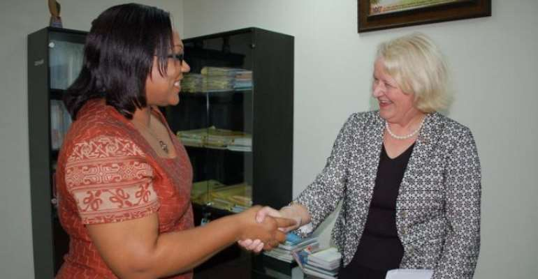 UNAIDS Boss visits Ghana AIDS Commission