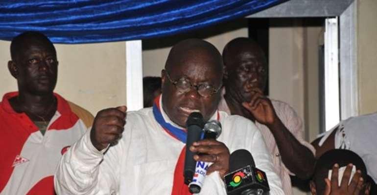 Pension fund saga: Nana Akufo-Addo criticises government