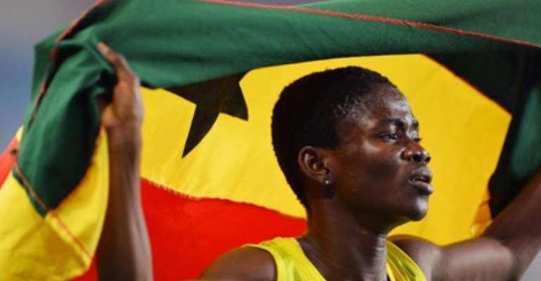 Olympic Winner Martha Bissah Honoured in Newaccra Achievers List 2015.
