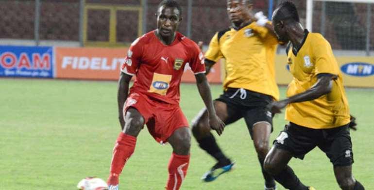 Obed Owusu: Kotoko striker worried about delay in Premier League start