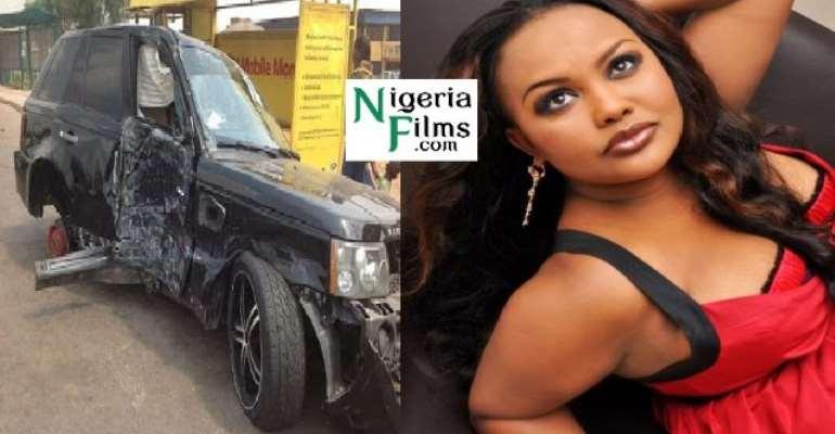 GHANA ACTRESS, NANA AMA RECUPERATES AFTER SERIOUS ACCIDENT