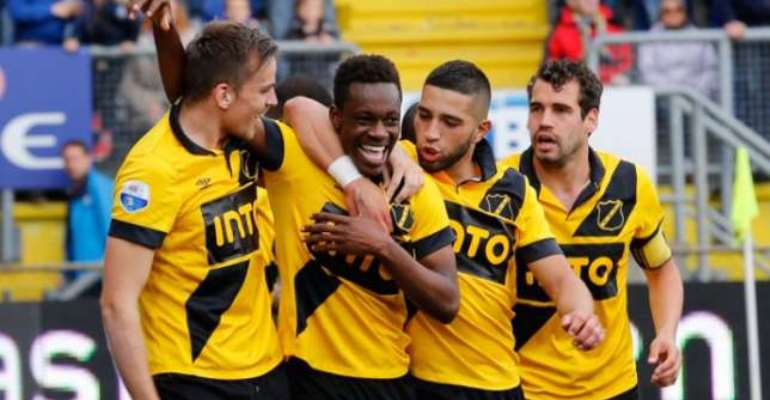 Pick that out: Divine Naah scores wonder goal in Eridivisie playoff