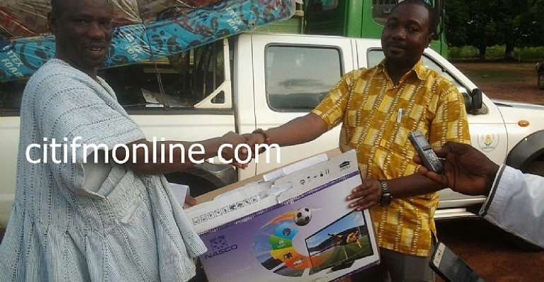 Bimbila Gov't Hospital gets items worth over Ghc30, 000