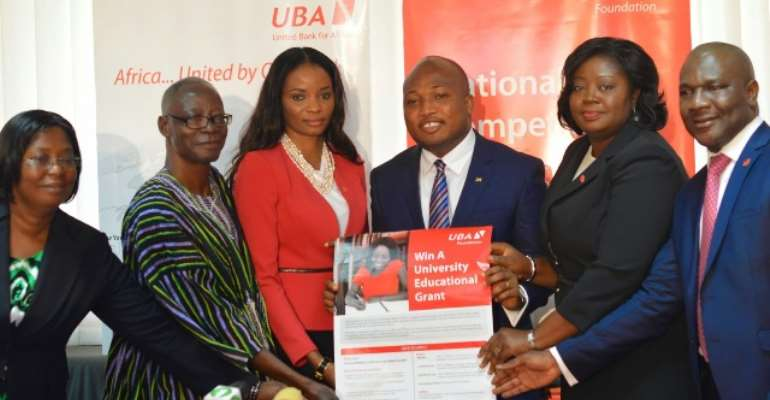 Launch of UBA's Essay Writing Contest for Senior High School students in Ghana