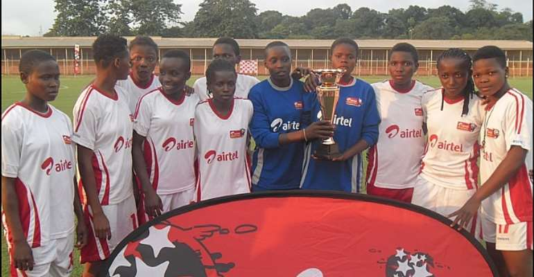 Winners Of The Female Category, Enugu Zonal Championship On Friday At The UNEC Stadium, Enugu