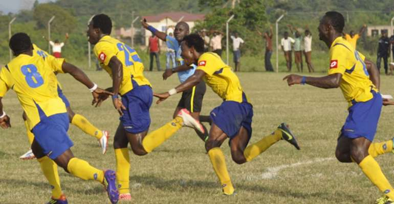 New Edubiase grab late win at Dwarfs