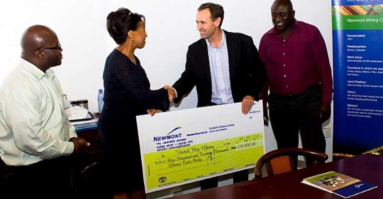 Newmont supports the underprivileged